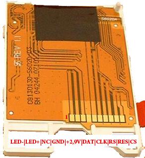 LCD de celular