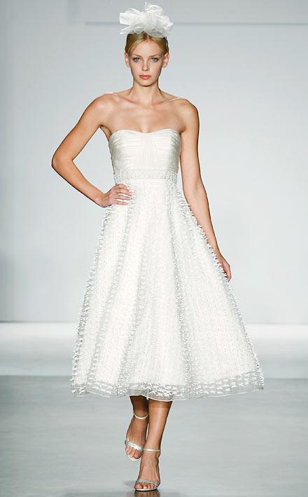 Green bay wedding dresses hot new trends short for Melissa sweet short wedding dress