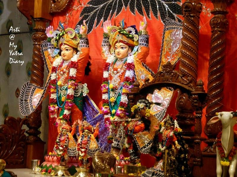 Shri Radha Krishna Deities in Sri Sri Radha Kunjabihari ISKCON Temple, Camp, Pune, Maharashtra