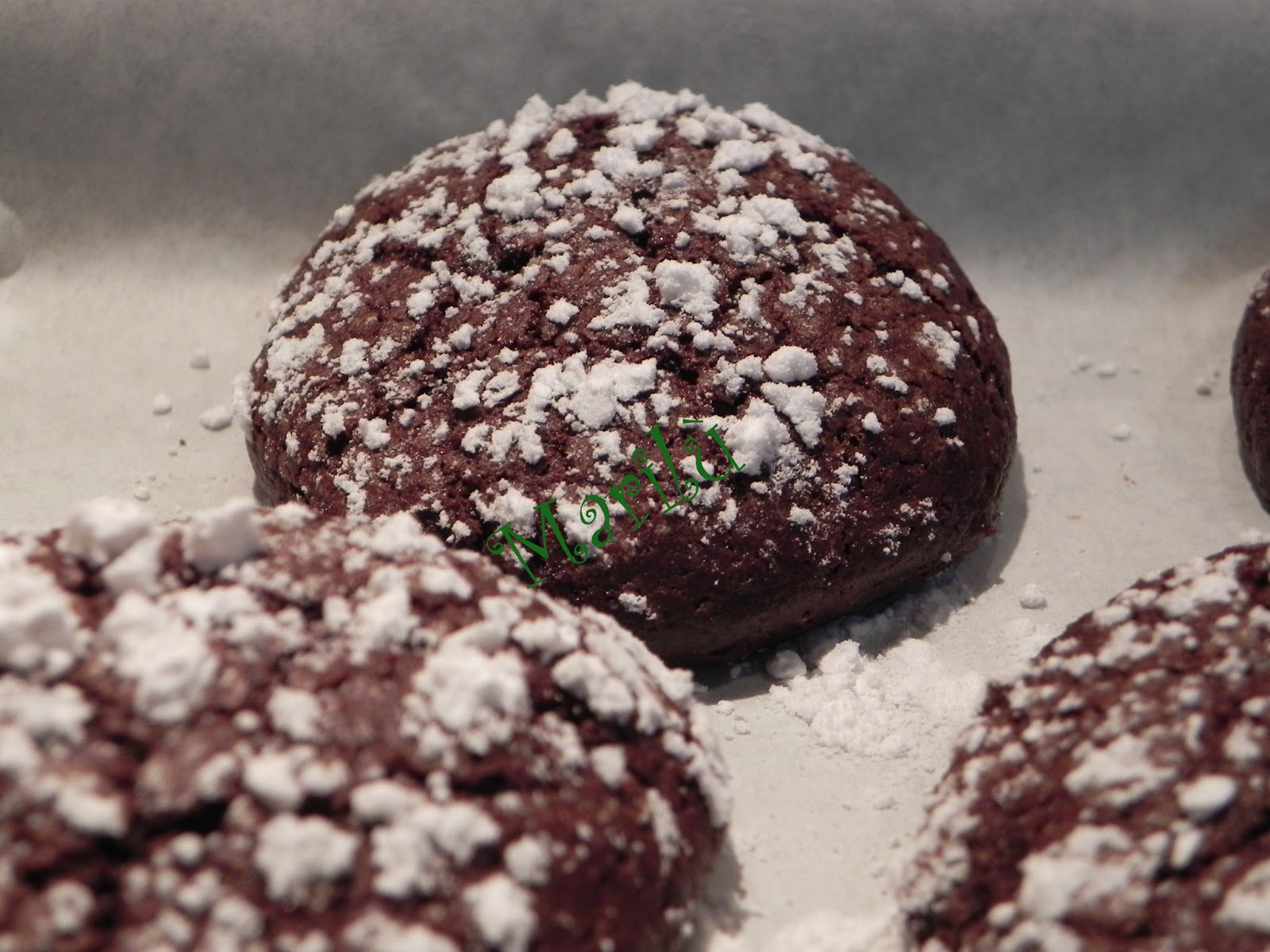 Nonna Peppa Carbone: Mexican Mocha Crinkle Cookies