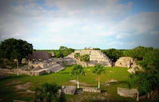 Ruinas mayas Xcambó Yucatan