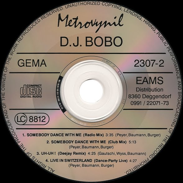 Complete your dj bobo collection