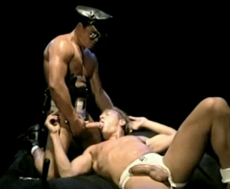 from Jaxon gay leather cops movies