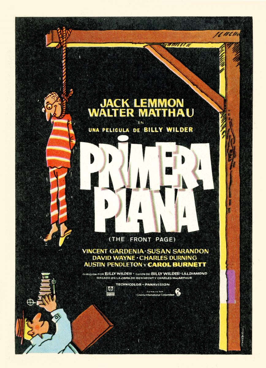 Primera Plana (1974) Billy Wilder | Comedia
