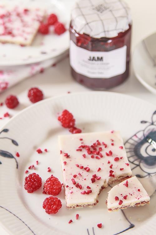 Amalie loves Denmark Rezept für dänische Himbeerschnitten