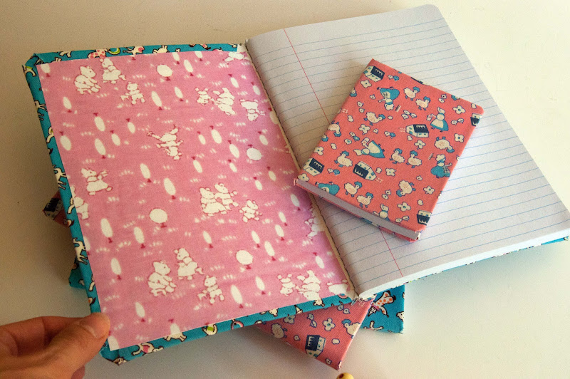 Fabric Cover For Composition Book ~ Aesthetic nest craft fabric covered composition books