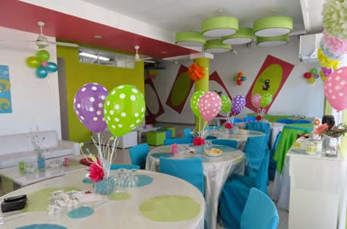 Baskin robbins for Decoracion salon infantil