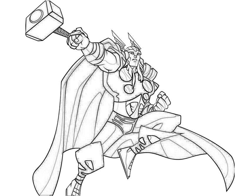 thor coloring pages - thor ability lowland seed