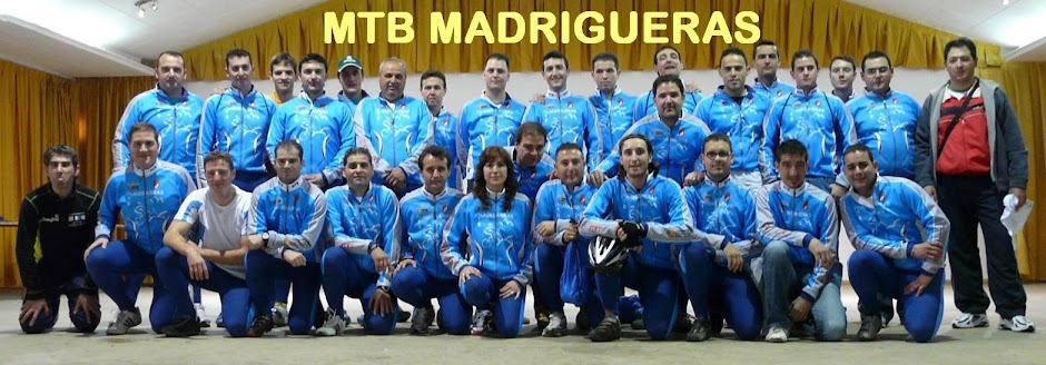 MTB MADRIGUERAS - MOUNTAIN BIKE