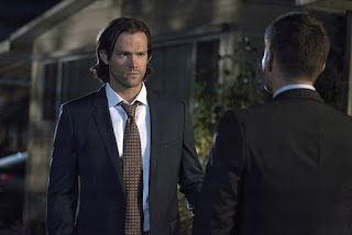 "Jared Padalecki as Sam Winchester in Supernatural 11x05 ""Thin Lizzie"""
