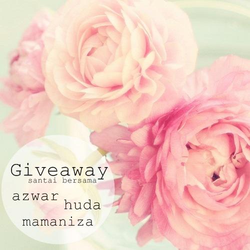 http://nurfarahudahud.blogspot.com/2014/09/giveaway-santai-bersama-azwar-huda-dan.html