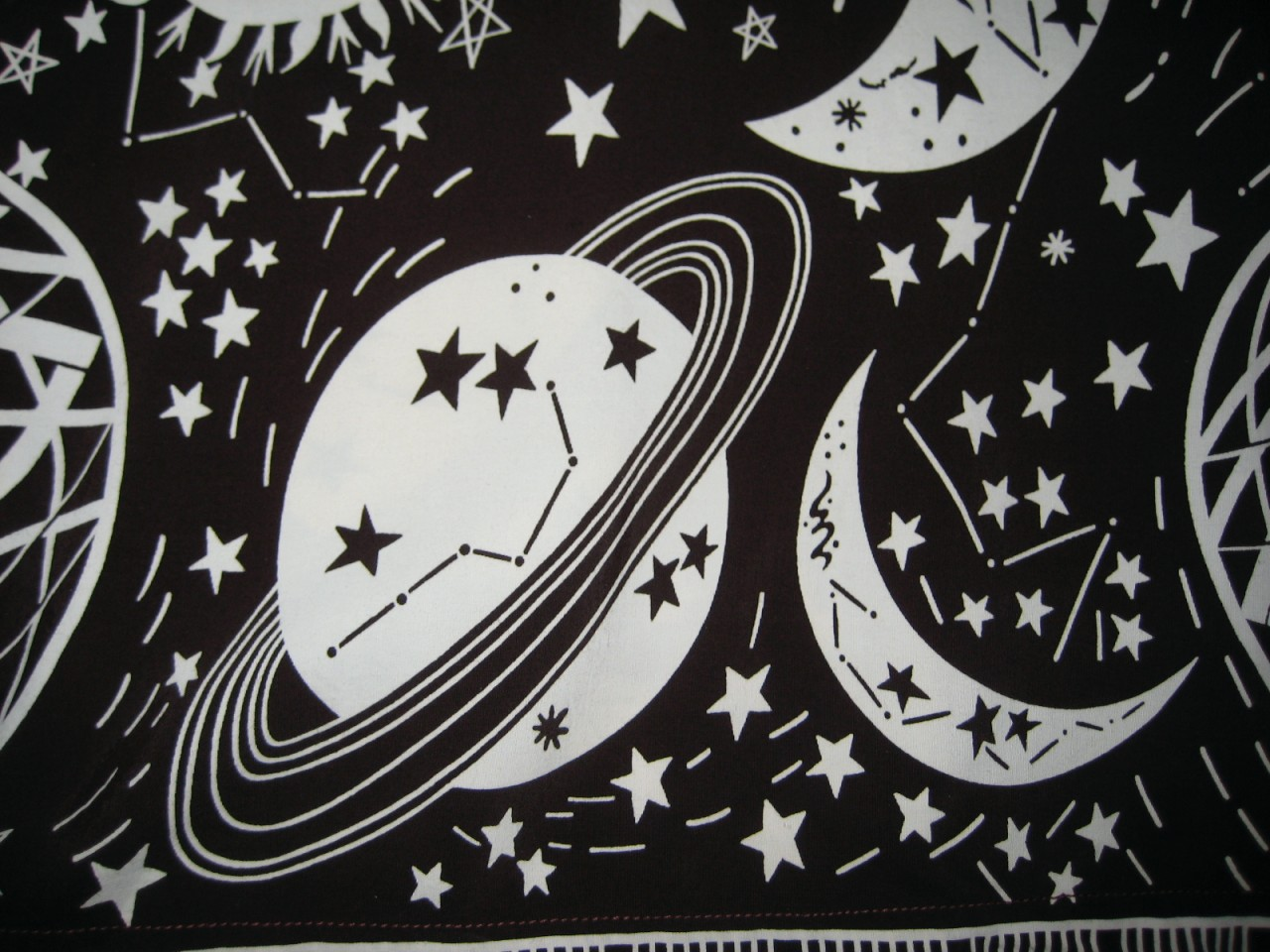 Retro Outer Space Of Thrift Score And More Vintage Outer Space Hawaiian