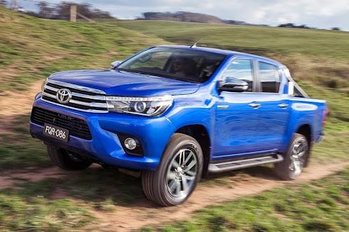 Nova Geração da Toyota Hilux 2016