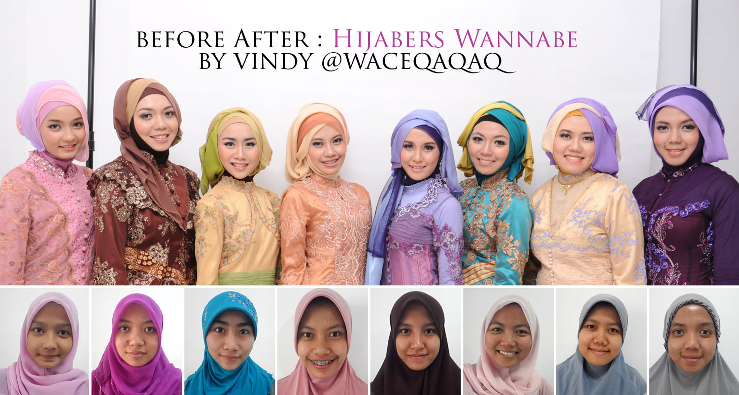 Ini Vindy Yang Ajaib Before After MakeUp Natural Ala Hijabers