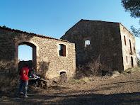 Vista del cantó de ponent de Cal Marianó