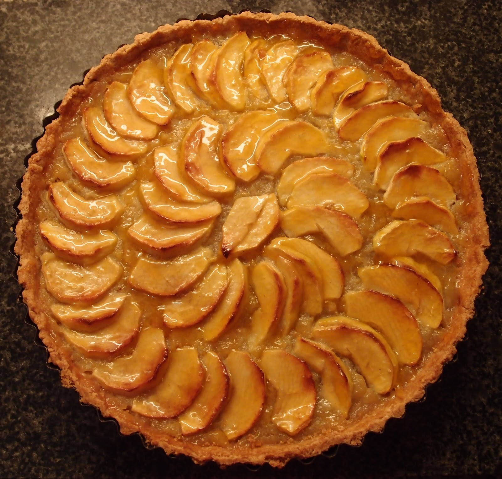 The Caked Crusader: Bramley apple tart