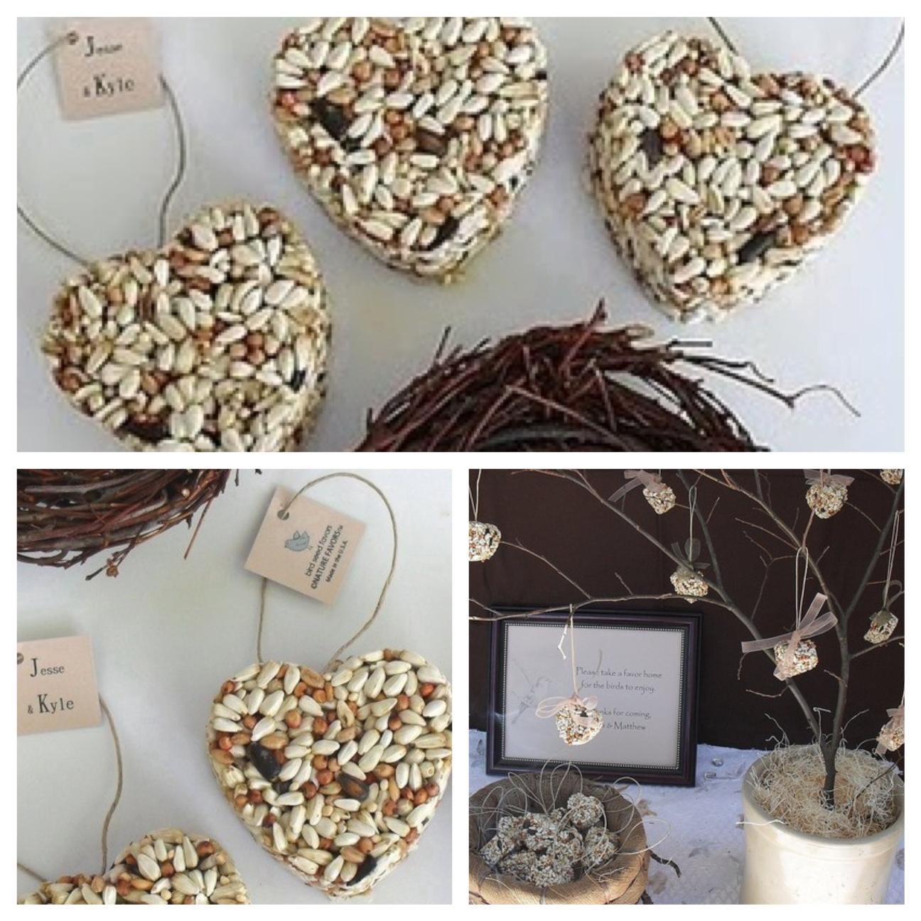 Mesa Blue Bird Seed Wedding Favors