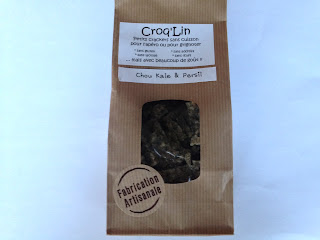 Crackers sans gluten chou kale & persil