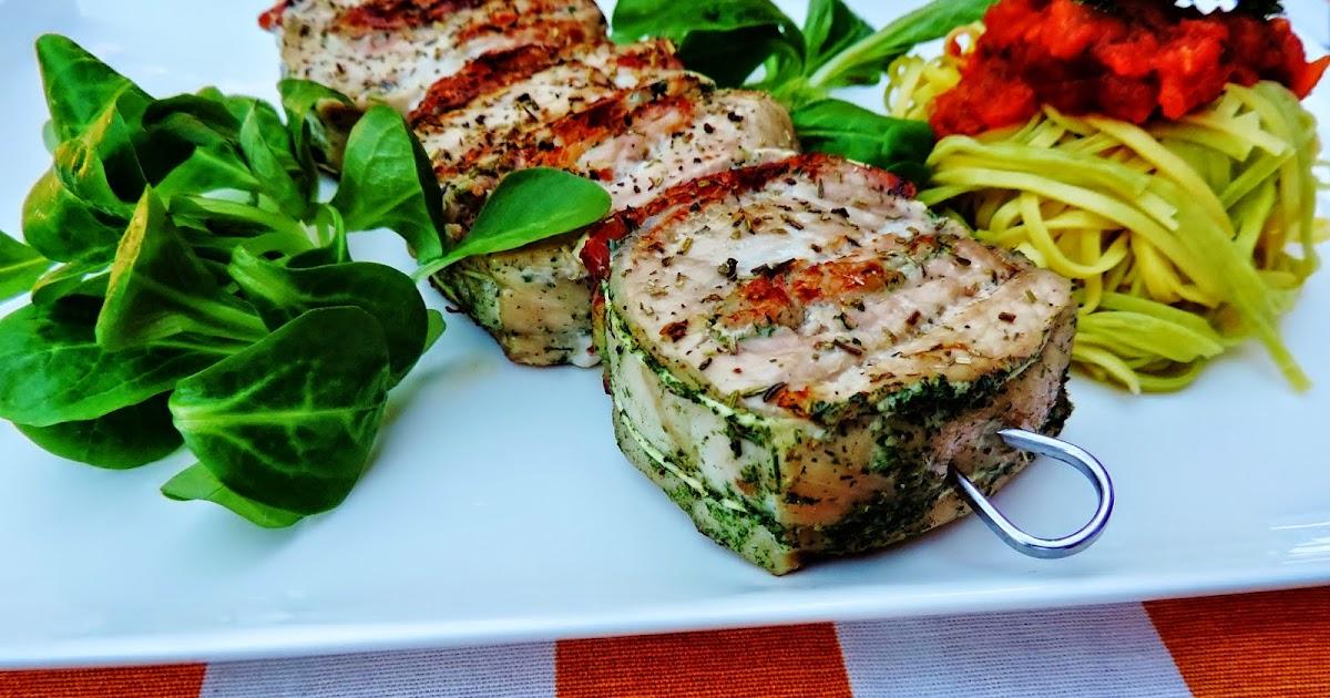 Krystina cuisine brochettes de filet mignon de porc - Cuisine filet mignon de porc ...