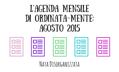 agenda ordinata-mente