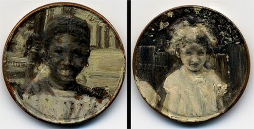 00-Front-Page-Artist-Jacqueline-L-Skaggs-Discarded-Pennies-Oil-Painting-on-Coins-www-designstack-co