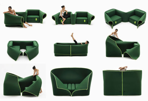 Innovative and Cool Convertible Sofa Designs (10) 7