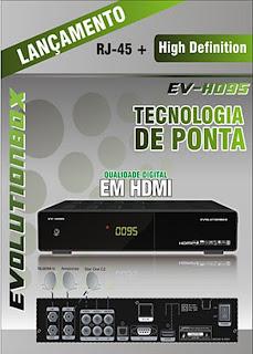 EVOLUTIONBOX EV 95 HD ( GRANDE ) NOVA ATUALIZAÇÃO - V 1.23 - 27/07/2013