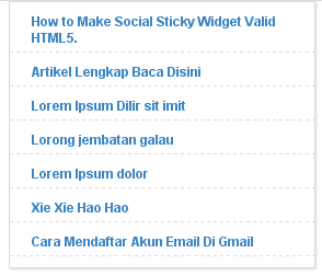 Cara Membuat Popular Post Simple Keren 4