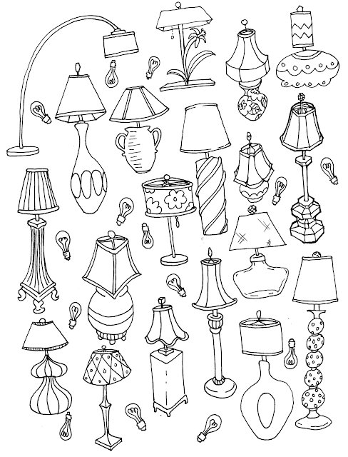 adult-coloring-page, coloring-pages-for-adults, home-decor-coloring-page