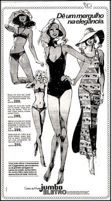 moda feminina anos 70; oswaldo hernandez;