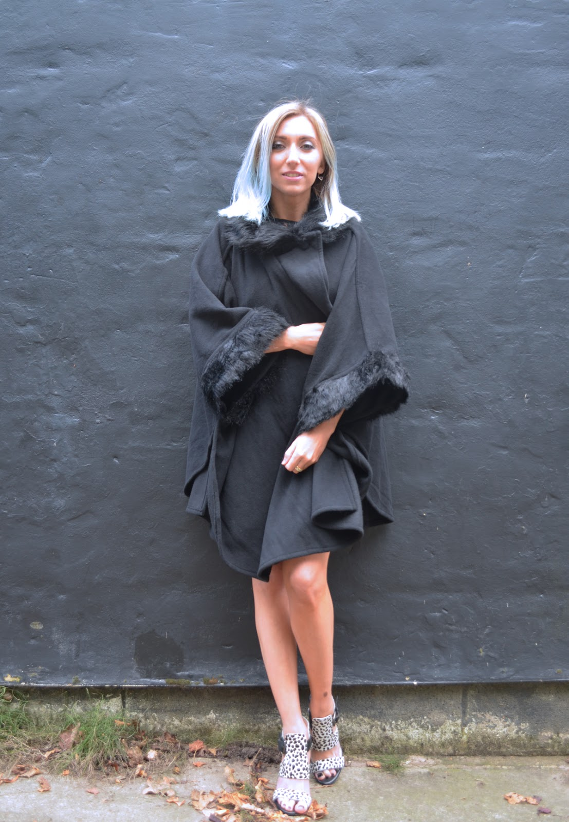 Black Marks and Spencer Cape