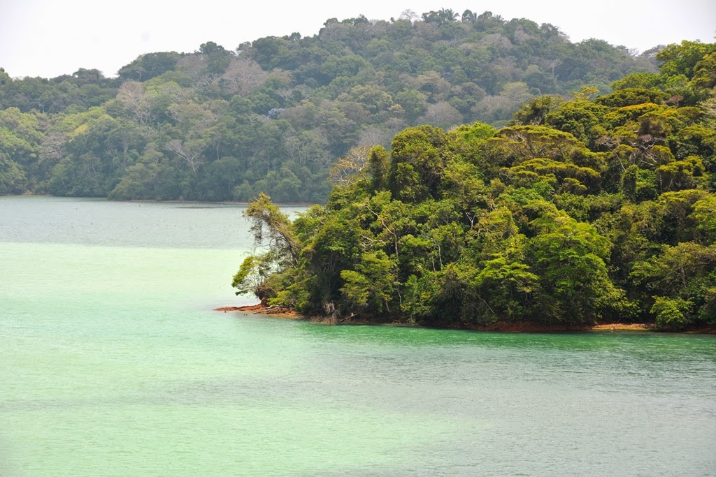 Gatun Lake Panama islands
