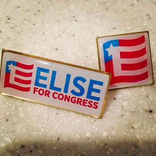 New Campaign Bling...Elise Lapel Pins