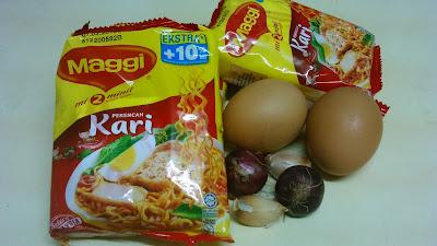 Mee Manggi Kari Goreng