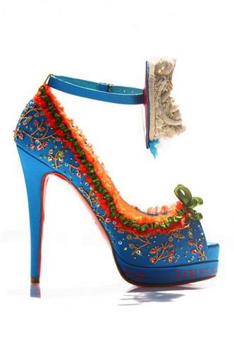 pumps shoes bridal louboutin
