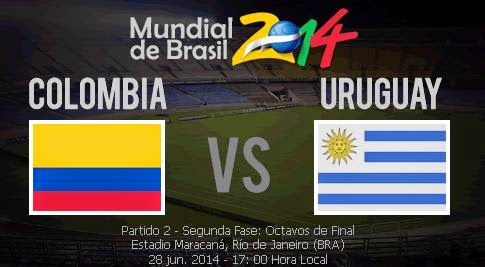 ver Colombia vs Uruguay
