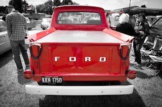 Ford hot rod pick up