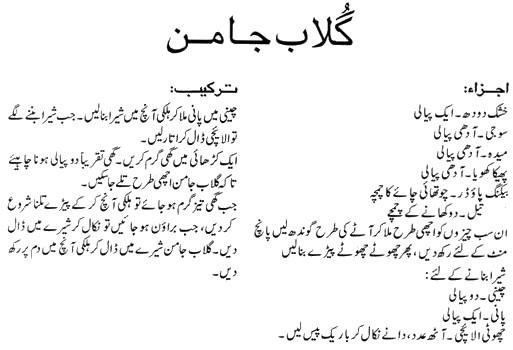 Gulab Jamun Recipe In Urdu Apna Food