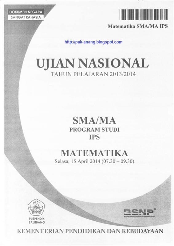 Skl Un 2014 Sma Program Ips