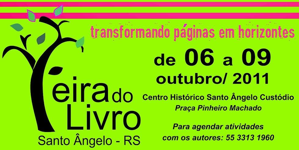 FEIRA  DO LIVRO - SANTO ÂNGELO - RS