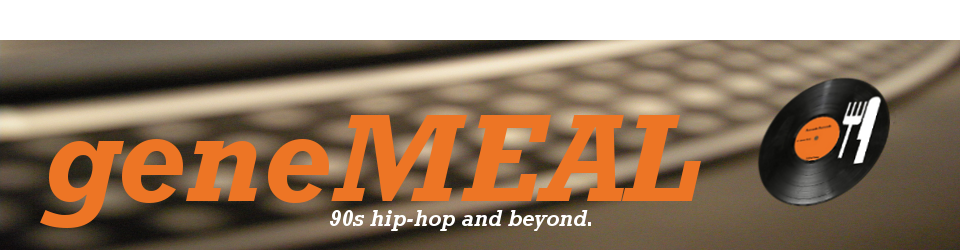 geneMEAL - 90s hip-hop and beyond
