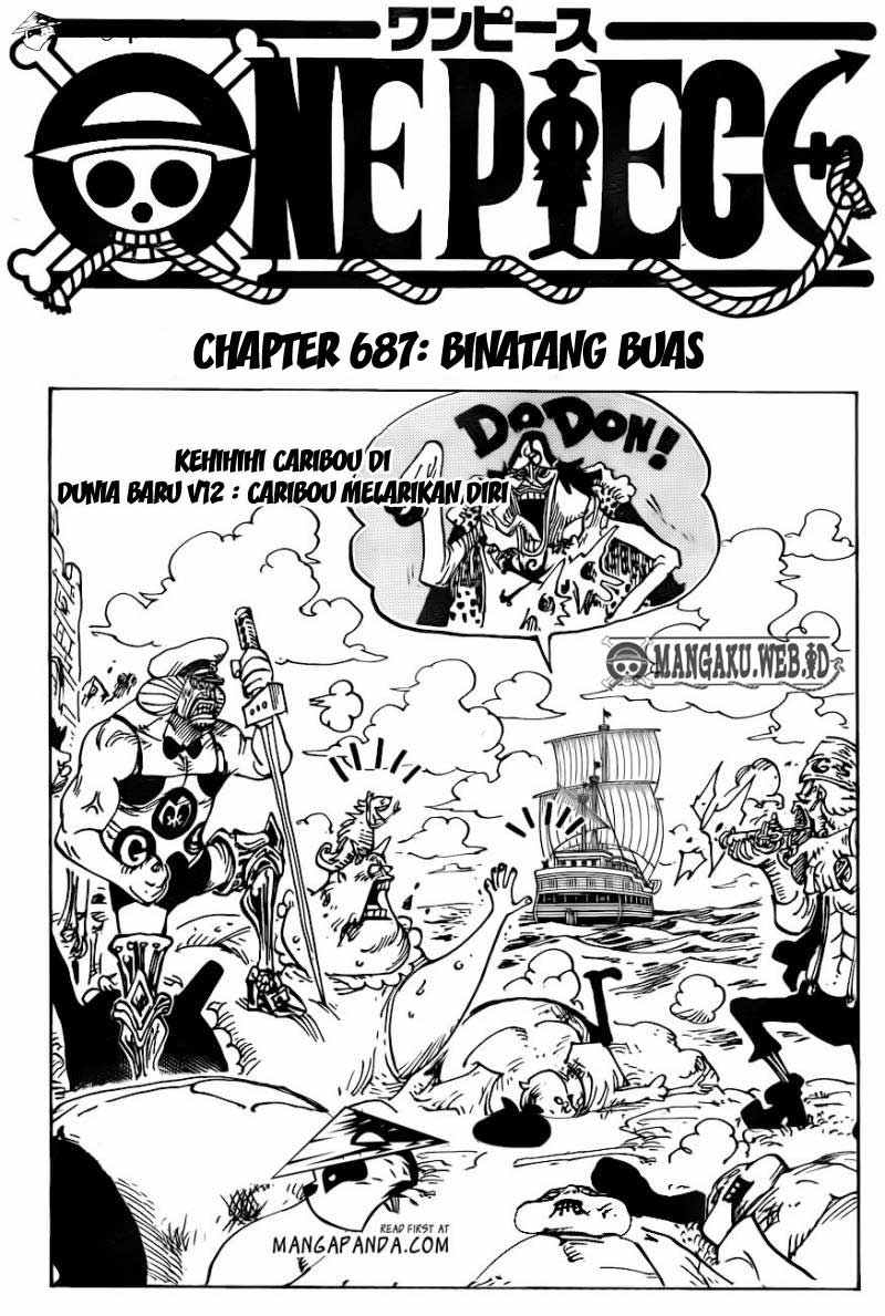 02 One Piece 687   Binatang Buas