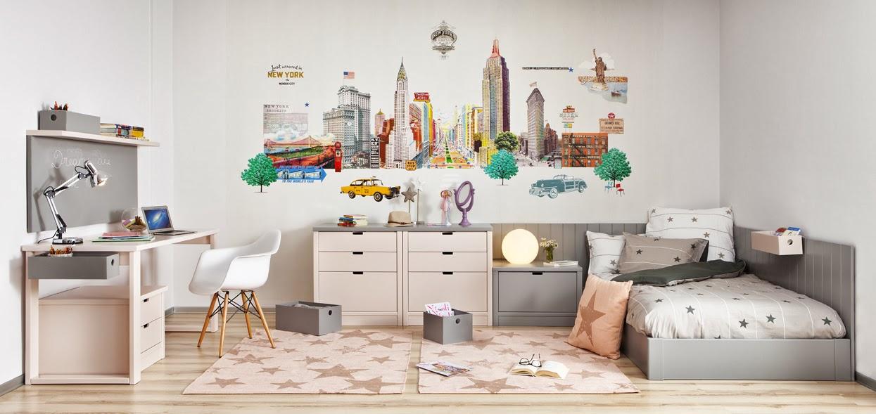 Dormitorios juveniles e infantiles roomplanner de asoral for Habitaciones juveniles chica
