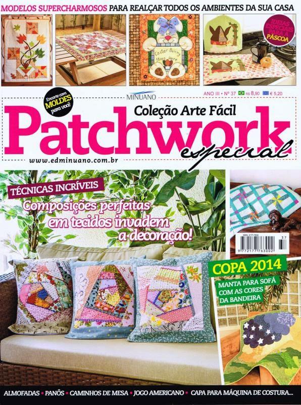 Vídeos patchwork, Panô, Capa de máquina, Mantas, Toalhas de mesa e americana