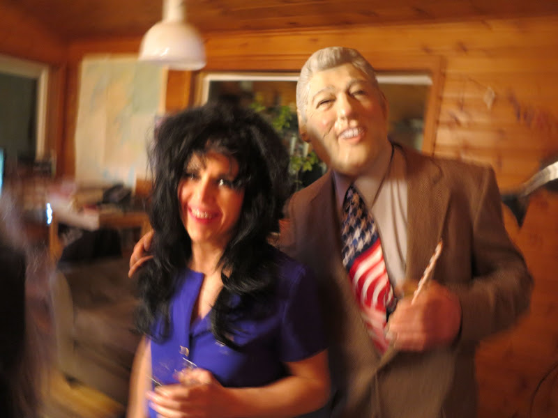 Monica Lewinsky And Bill Clinton Costumes