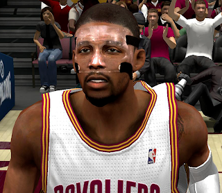 NBA 2K14 Kyrie Irving Cyberface with Mask Mod