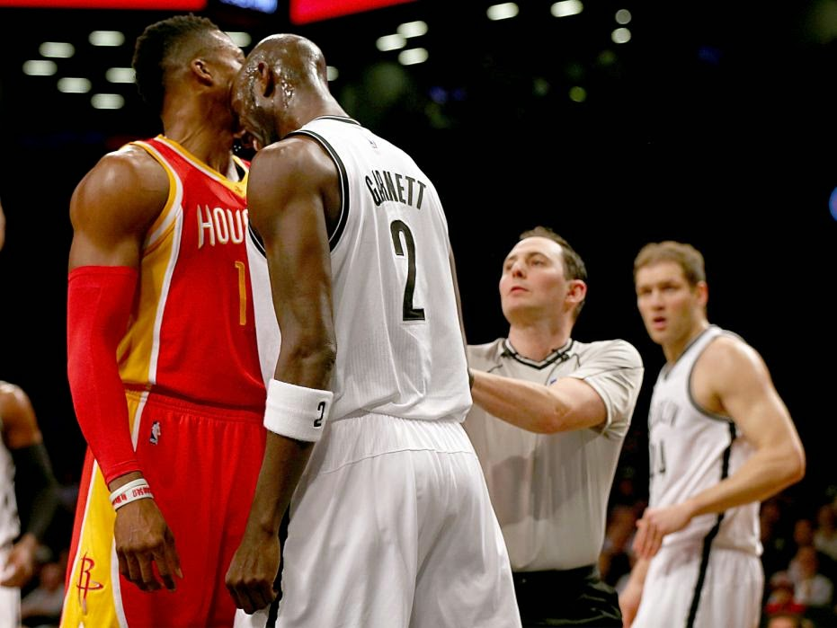 Kevin Garnett, Dwight Howard, KG, Houston Rockets, Brooklyn Nets