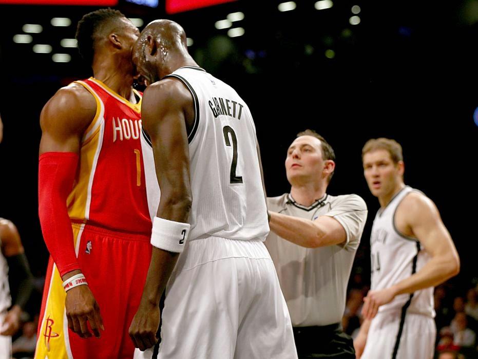 Kevin Garnett, Dwight Howard, KG, Houston Rockets, Brooklyn Nets