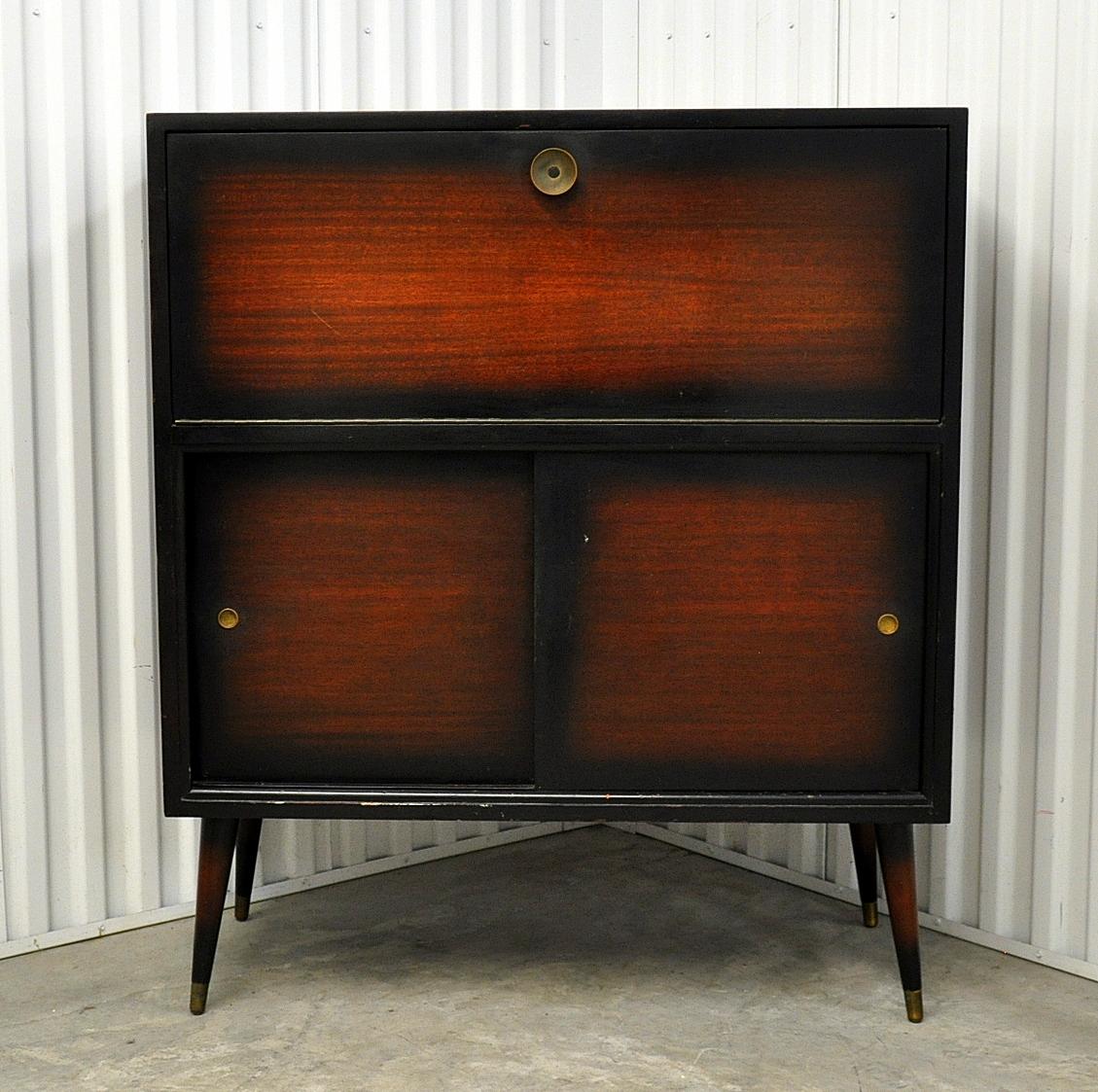 Mid Century Modern Bar Cabinet