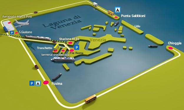 Comment Rejoindre Centre Ville Venise Depuis Aeroport